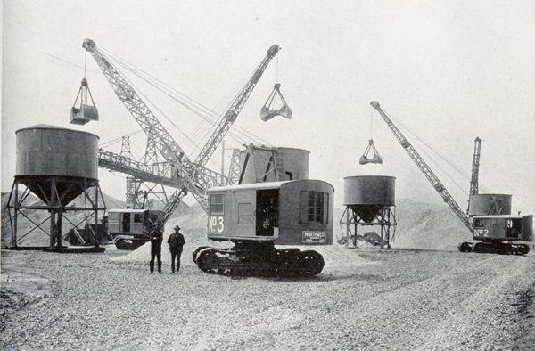 Historical Construction Equipment Association Old Photos