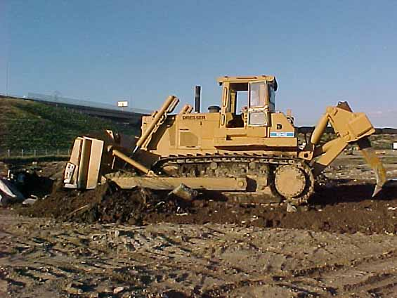 Crawler Tractor 1987 Dresser Td40 With Hydraulic As Opposed To Cable Dozer And Ripper The First Rippers Were Pulled Behind