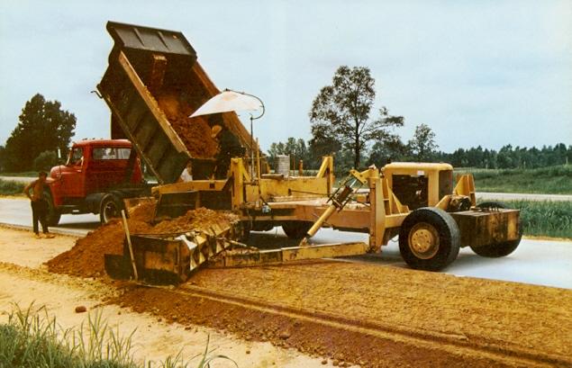Historical Construction Equipment Association Paving